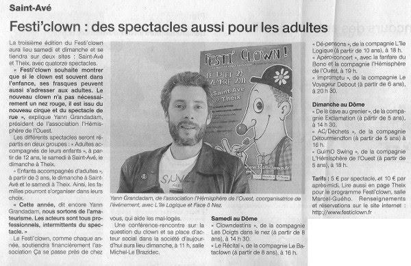 FestiClown 2011 - couverture presse - (10) OF 18-11-11 Réduit