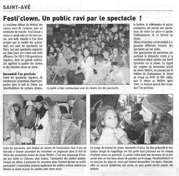 FestiClown 2011 - couverture presse - (3) Réduit