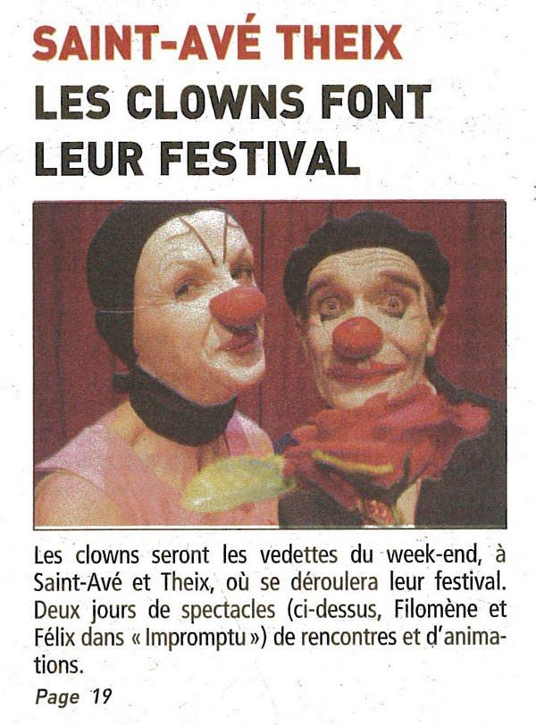 FestiClown 2011 - couverture presse - (5) TG 16-11-11 Réduit