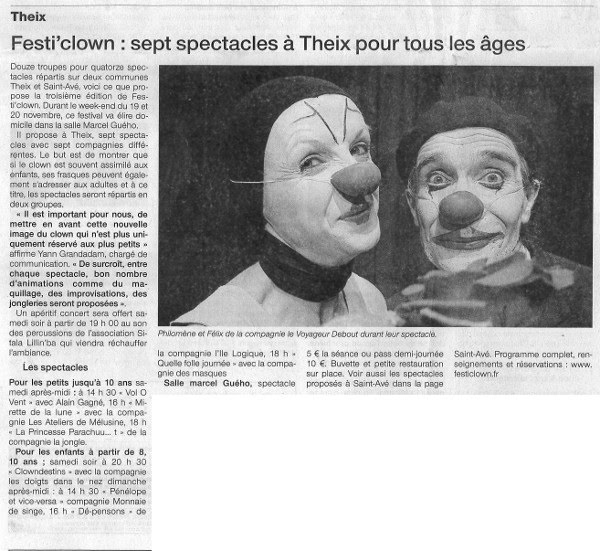 FestiClown 2011 - couverture presse - (9) OG 17-11-11 Réduit