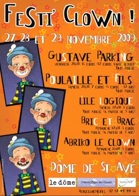 festival-clown-hors-piste-affiche-festi-clown-2009